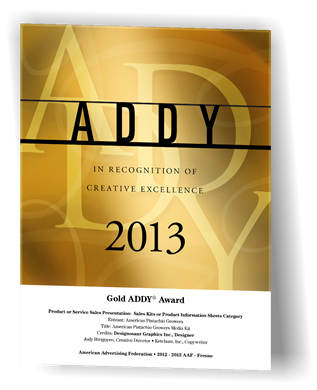 Gold Addy Award