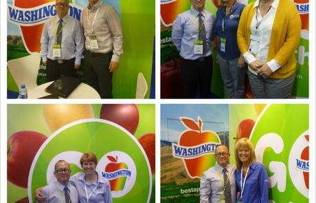Washington Apples Booth - Fruit Logistica Hong Kong