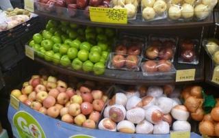 Honk Kong Supermarket Merchandising