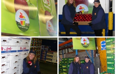 Washington Apples Go Healthy Banners U.K.