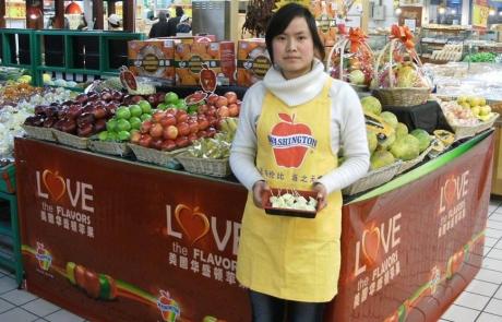 Washington Apples' Love Campaign - Display Skirt China