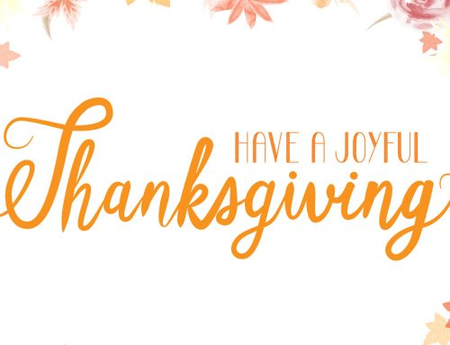 Have a Joyful Thanksgiving